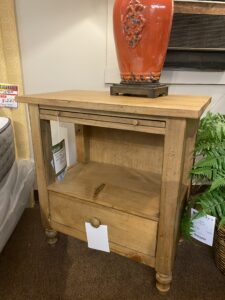 Homecoming vintage pine nightstand by Kincaid