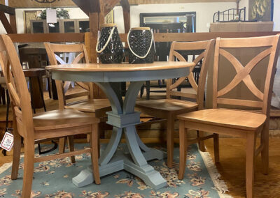 Select custom table at Fallon's Furniture